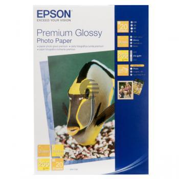 Epson Premium Glossy Photopapier weiß 10 x 15 cm (C13S041706)