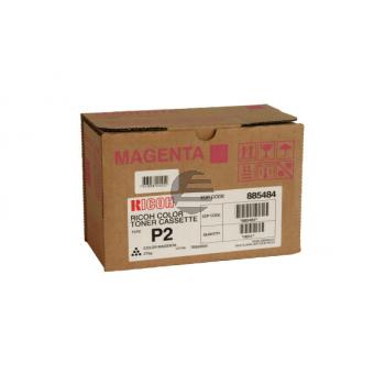 Ricoh Toner-Kit magenta HC (885484, TYPE-P2M)