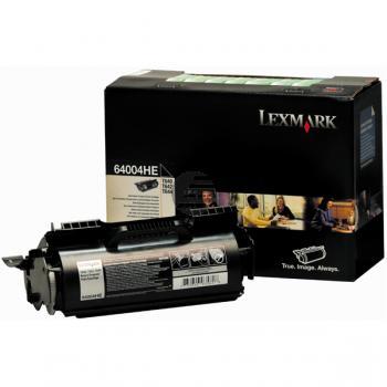 Lexmark Toner-Kartusche Prebate Etikettendruck schwarz (64004HE)