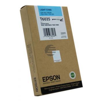 Epson Tintenpatrone cyan light HC (C13T603500, T6035)