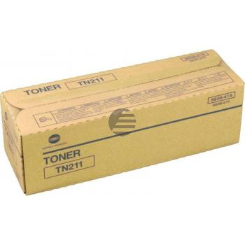 Konica Minolta Toner-Kit schwarz (8938-415-000, TN-211) ersetzt 8938-417-000 / TN-211
