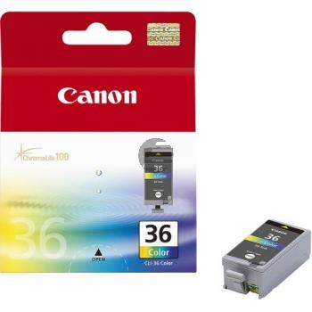 Canon Tintenpatrone gelb cyan magenta schwarz (1511B001 1511B001AA, CLI-36)