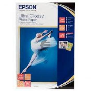 Epson Ultra Glossy Photopapier weiß 10 x 15 cm (C13S041943)