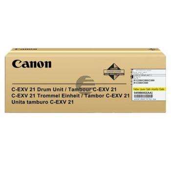 Canon Fotoleitertrommel gelb (0459B002 0459B002AA, C-EXV21Y)