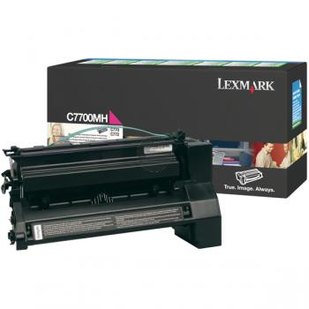 Lexmark Toner-Kartusche Prebate magenta HC (C7700MH)