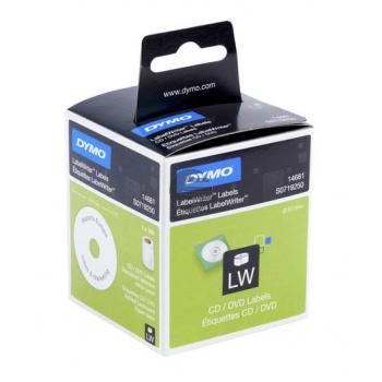 Dymo CD-/DVD-Etiketten (weiß) 1 X 160 (S0719250)