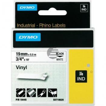 Dymo Farbiges Vinylband 190mm schwarz/weiß (18445)