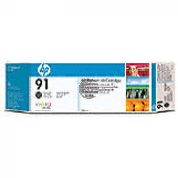 HP Tintenpatrone Photo-Tinte 3 x schwarz photo schwarz 3er Pack (C9481A, 3 x 91)
