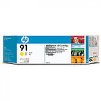 HP Tintenpatrone 3 x gelb 3er Pack (C9485A, 3 x 91)