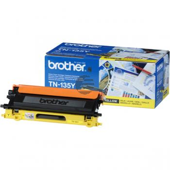 Brother Toner-Kit gelb HC (TN-135Y)