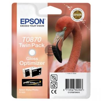 Epson Tintenpatrone Ultrachrome Hi-Gloss2 Gloss Enhancer (C13T08704010, T0870)