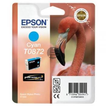Epson Tintenpatrone Ultrachrome Hi-Gloss2 cyan (C13T08724010, T0872)