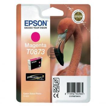 Epson Tintenpatrone Ultrachrome Hi-Gloss2 magenta (C13T08734010, T0873)