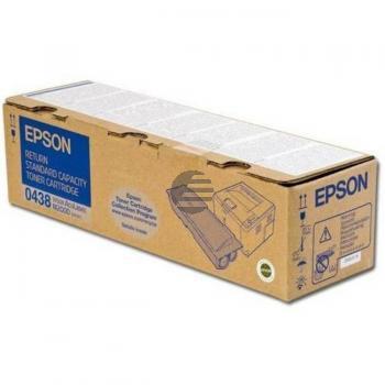 Epson Toner-Kartusche Return schwarz (C13S050438, 0438)