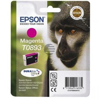 Epson Tintenpatrone magenta (C13T08934010, T0893)