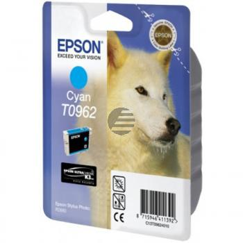 Epson Tinte Cyan (C13T09624010, T0962)