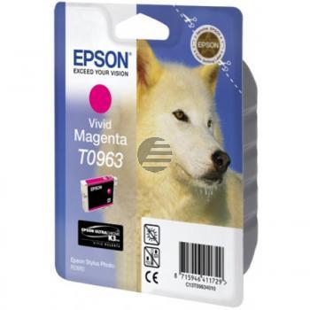Epson Tinte Magenta (C13T09634010, T0963)