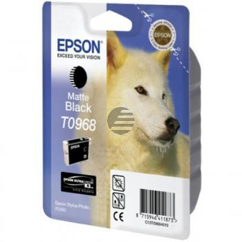 Epson Tinte schwarz matt (C13T09684010, T0968)
