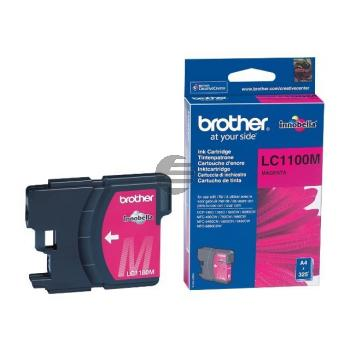Brother Tintenpatrone magenta (LC-1100M)