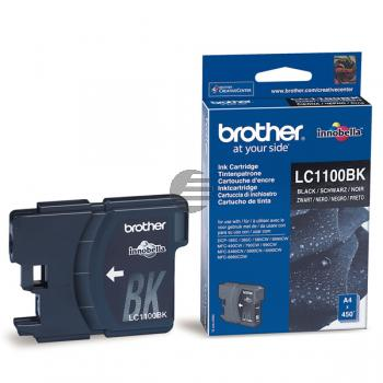 Brother Tinte schwarz (LC-1100BK)