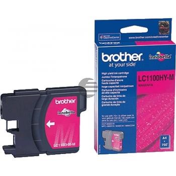 Brother Tinte Magenta HC (LC-1100HYM)