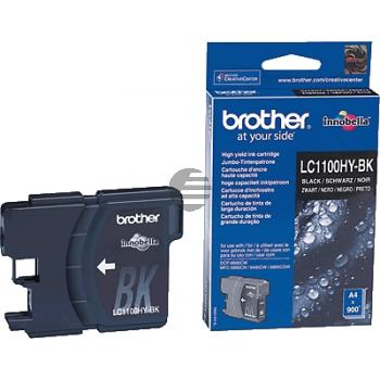 Brother Tinte schwarz HC (LC-1100HYBK)