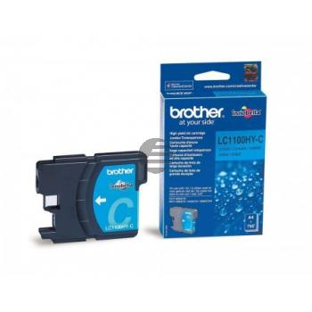 Brother Tinte Cyan HC (LC-1100HYC)