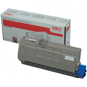 OKI Toner-Kit magenta (44318606)