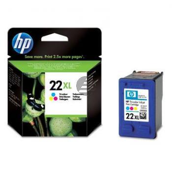 HP Tintendruckkopf Cyan/gelb/Magenta HC (C9352CE, 22XL)