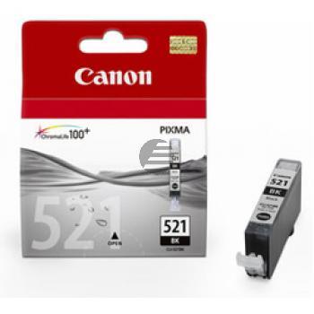 Canon Tintenpatrone schwarz (2933B001, CLI-521BK)