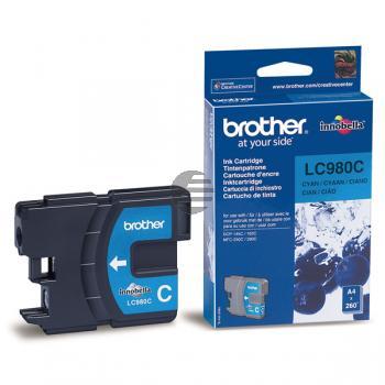 Brother Tinte Cyan (LC-980C)