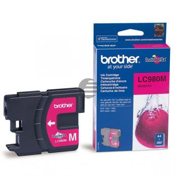 Brother Tinte Magenta (LC-980M)