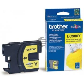 Brother Tinte gelb (LC-980Y)