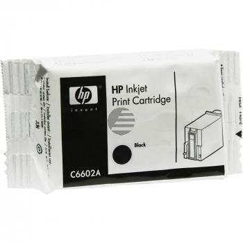 HP Tintendruckkopf schwarz (C6602A)