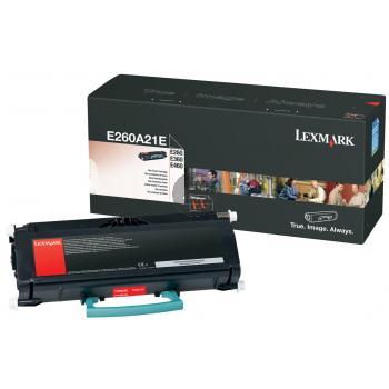 Lexmark Toner-Kartusche schwarz (E260A21E)