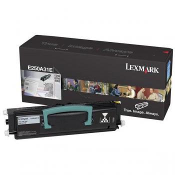 Lexmark Toner-Kartusche (P) schwarz (E250A31E)