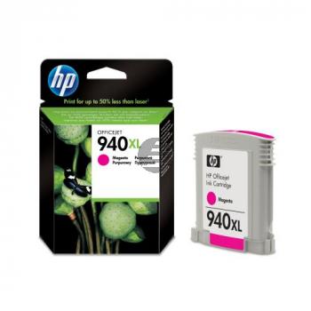 HP Tintenpatrone magenta HC (C4908AE, 940XL)