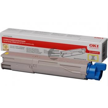 OKI Toner-Kit gelb HC plus + (43459329)