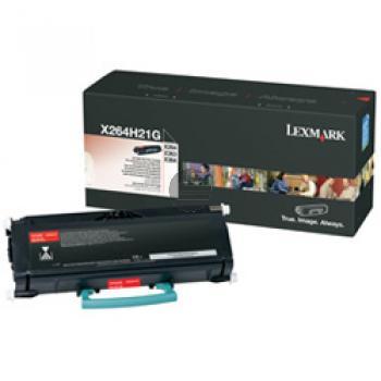 Lexmark Toner-Kartusche schwarz HC (X264H21G)