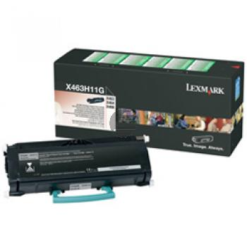 Lexmark Toner-Kartusche Return schwarz HC (X463H11G)