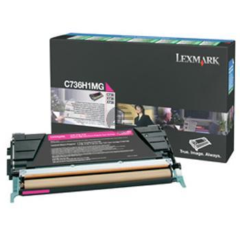 Lexmark Toner-Kartusche Prebate magenta HC (C736H1MG)