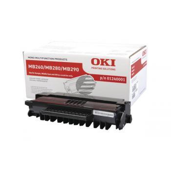 OKI Toner-Kartusche schwarz HC (01240001)