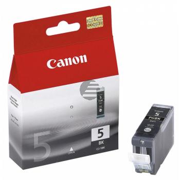 Canon Tintenpatrone 2x schwarz 2-er Pack (0628B025, 2x PGI-5BK)