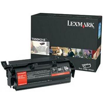 Lexmark Toner-Kartusche schwarz HC (T650H31E)