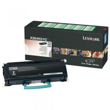 Lexmark Toner-Kartusche Corporate schwarz HC (X264H31G)