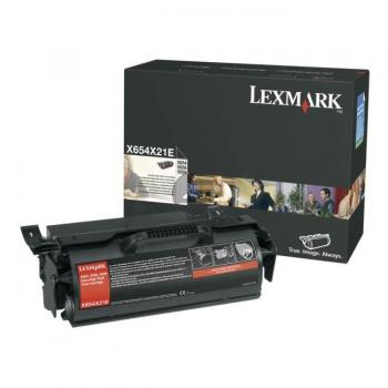 Lexmark Toner-Kartusche schwarz HC plus (X654X21E)
