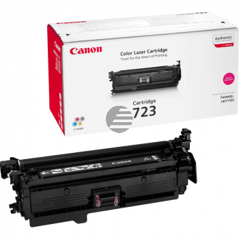 Canon Toner-Kartusche magenta (2642B002, 723)