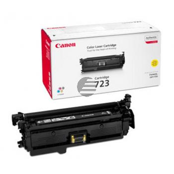 Canon Toner-Kartusche gelb (2641B002, 723)