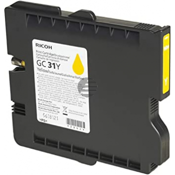 Ricoh Gel-Kartuschen gelb (405691, GC31Y)