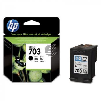 HP Tintendruckkopf schwarz (CD887A, 703)